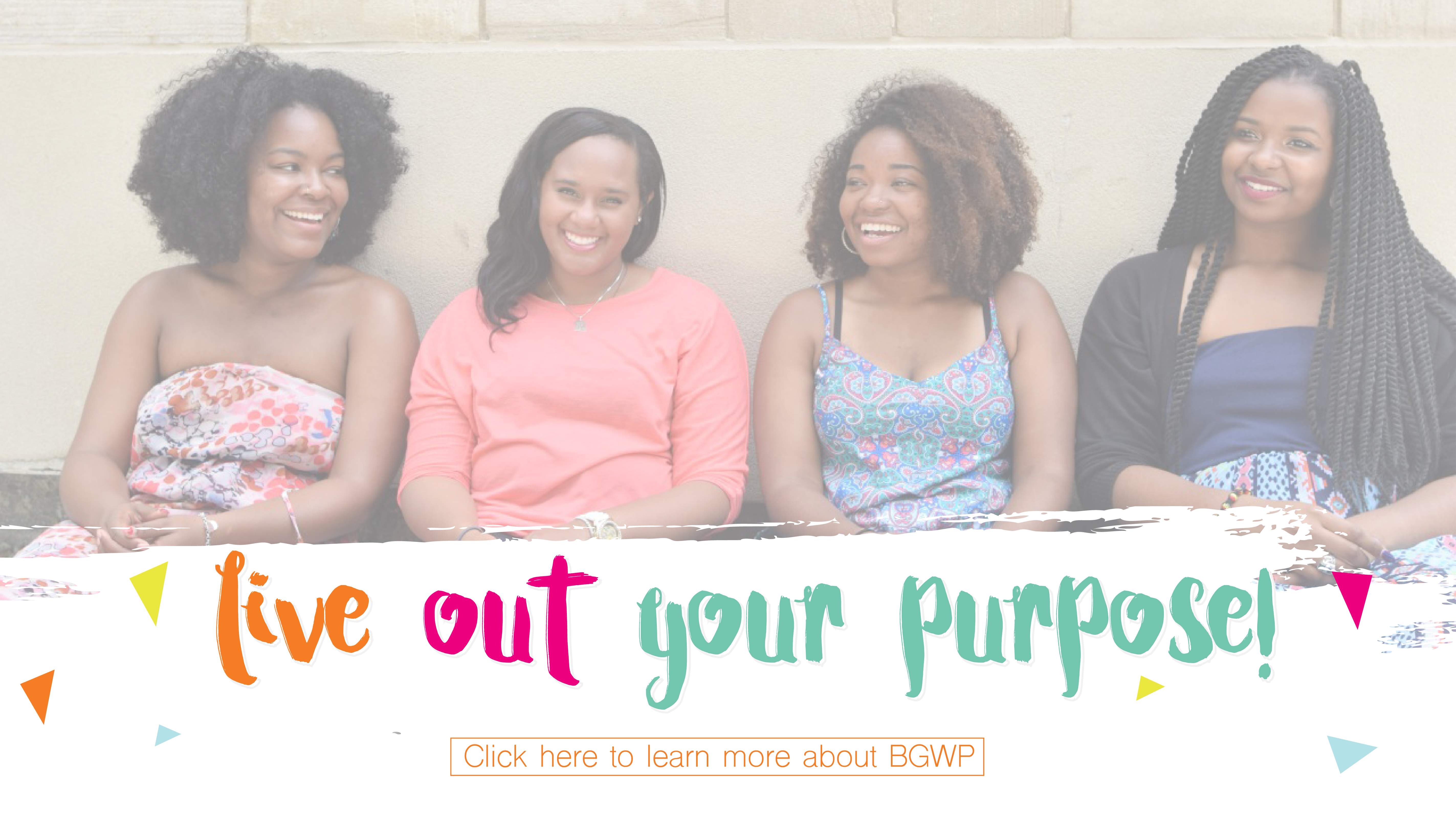 Black Girls with Purpose Banner
