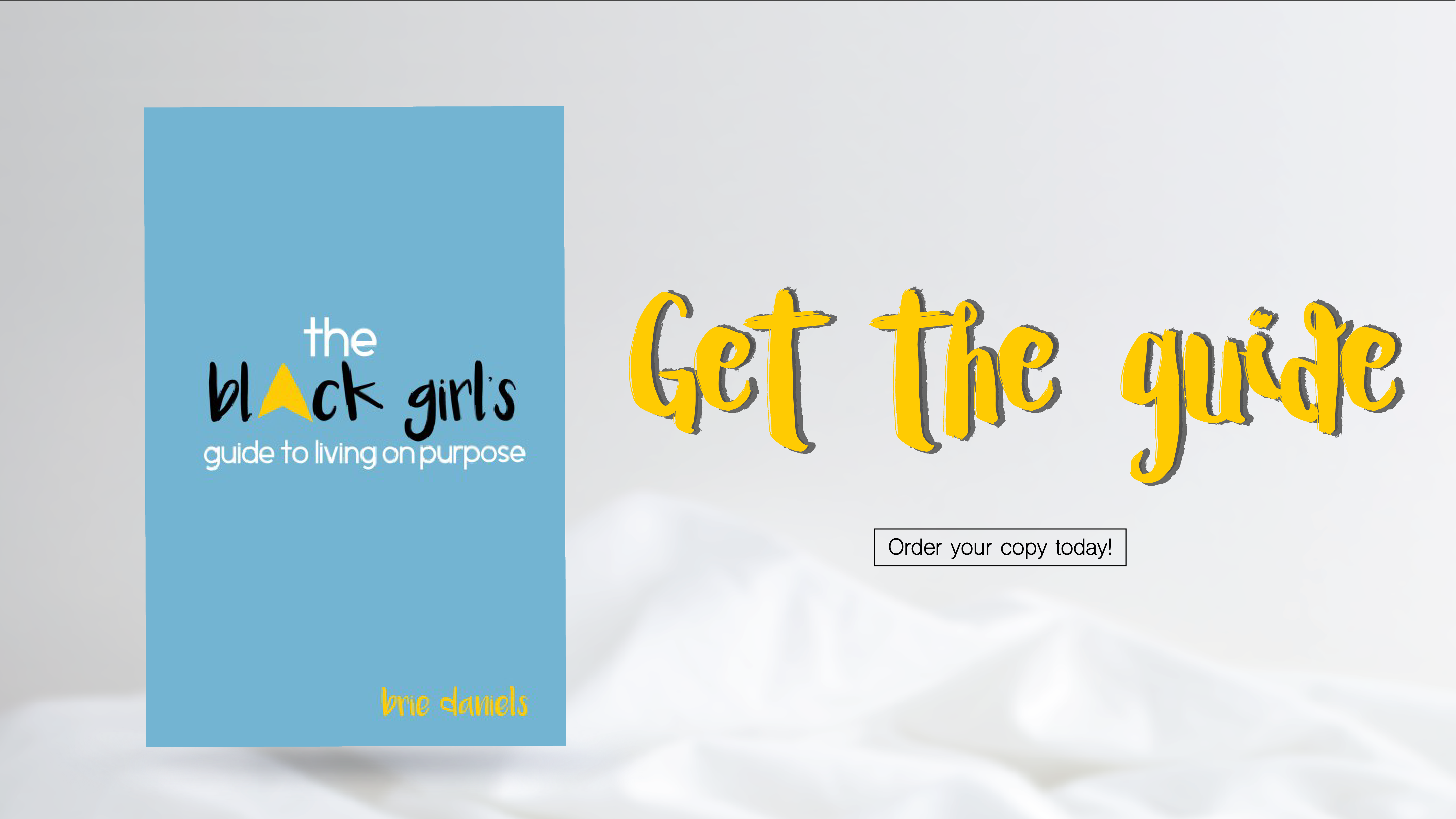 Black Girls with Purpose Book Banner, girls books